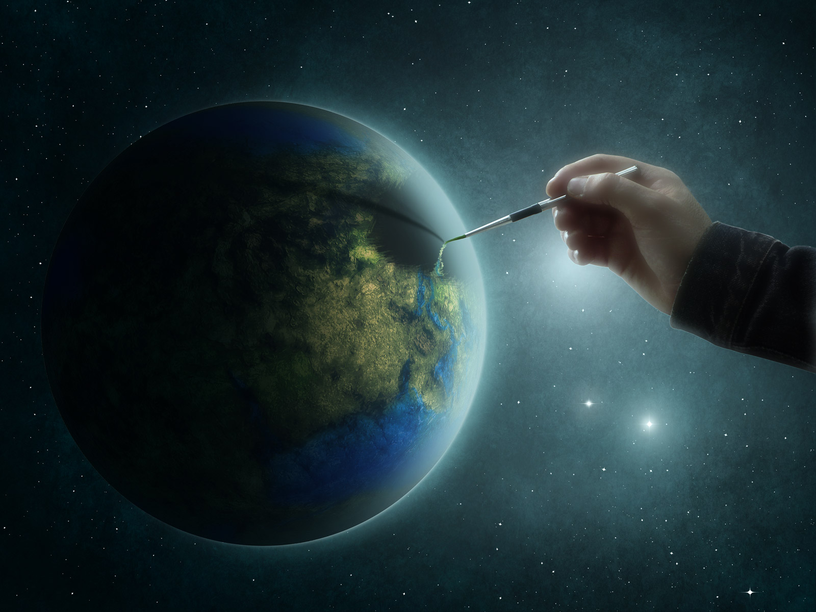 earth-painting-creative-backgrounds